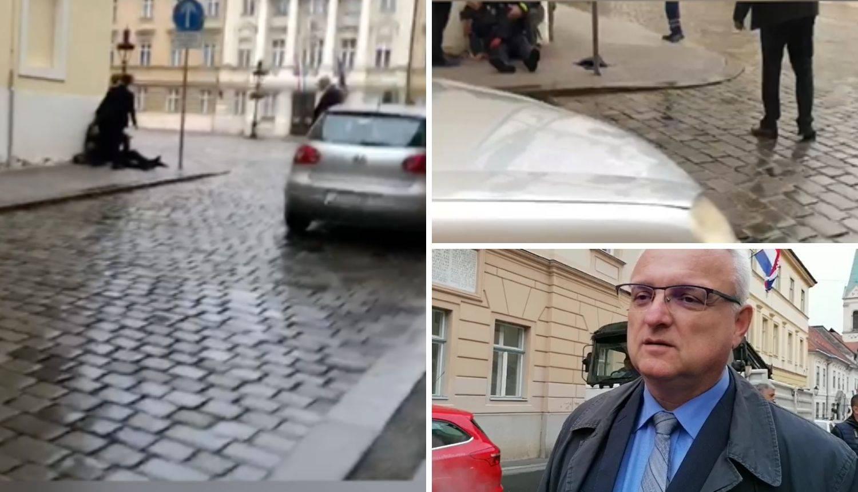 VIDEO Snimka nakon napada: Prolaznici su pomogli policajcu