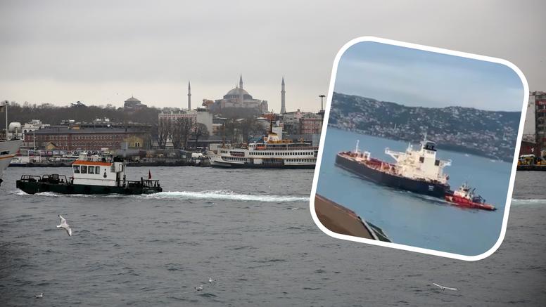 Brodu Tankerske plovidbe, koji vrijedi 52 milijuna dolara, otkazao je pogon u Bosporu