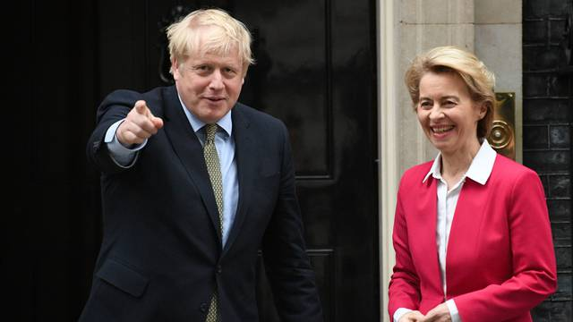 Zapeli pregovori nakon brexita: Johnson i von der Leyen će u subotu nastaviti s razgovorima