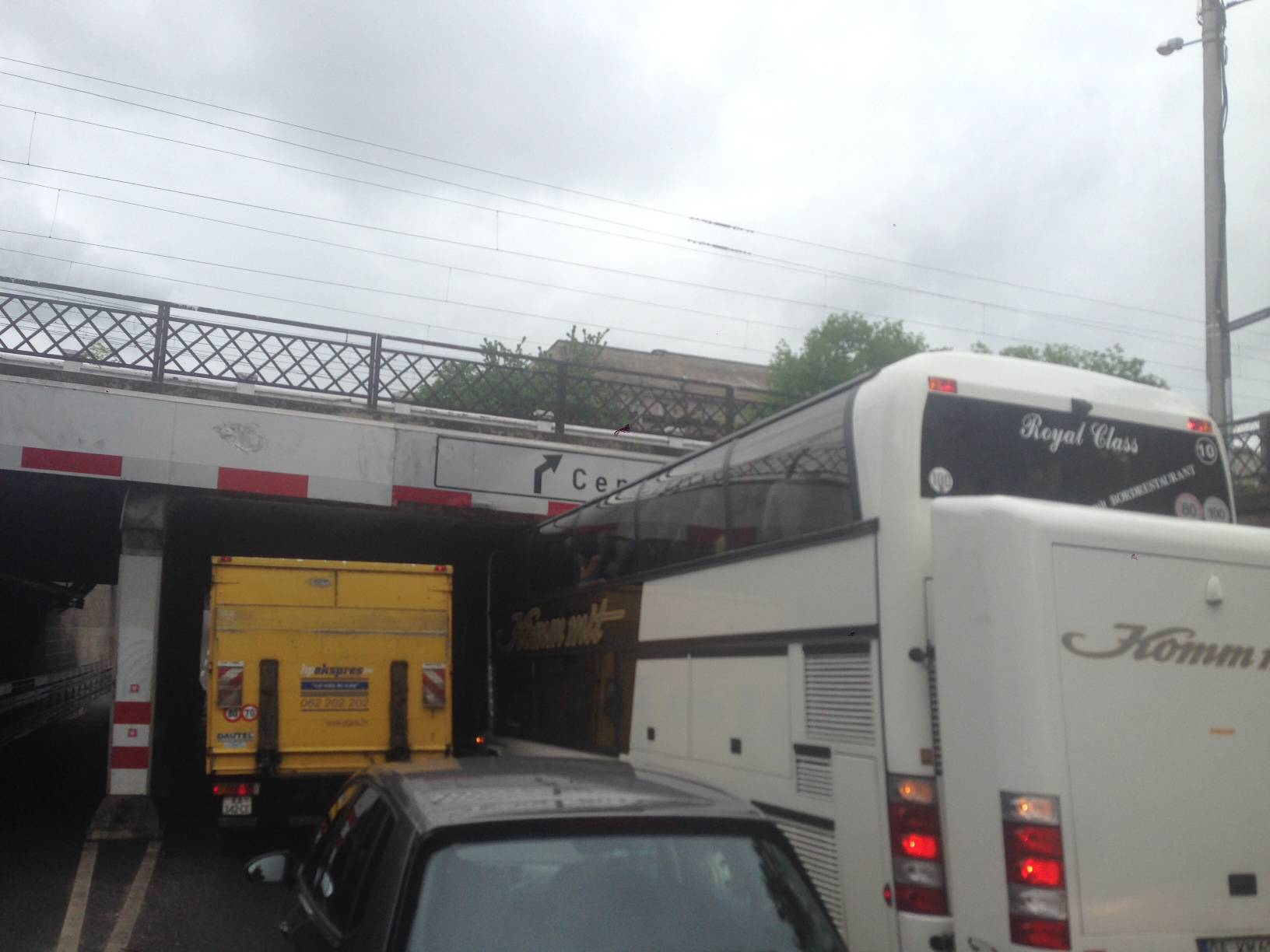 ''Vozač busa se zaustavio tek kad je vidio da ne može dalje''