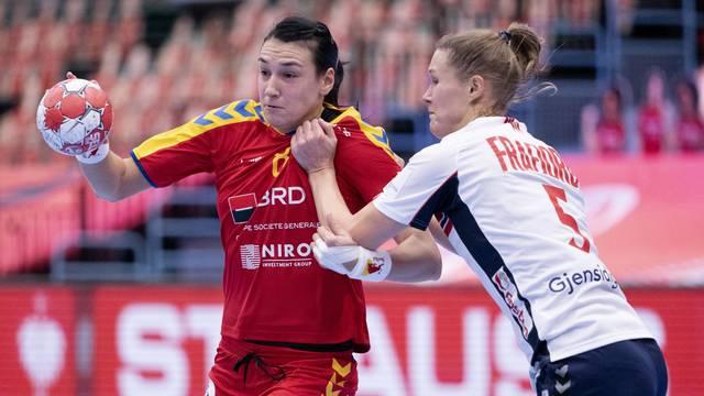 EHF Euro Women's Handball Championship - Preliminary Round - Romania v Norway