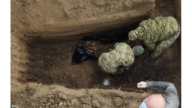 Negoslavci: Na groblju su našli ostatke još jedne žrtve iz rata