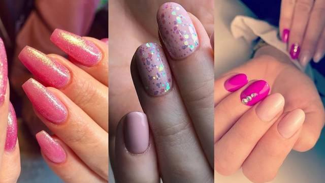 Roze manikure: 5 hit nijansi za vrlo ženstveni stil na noktima