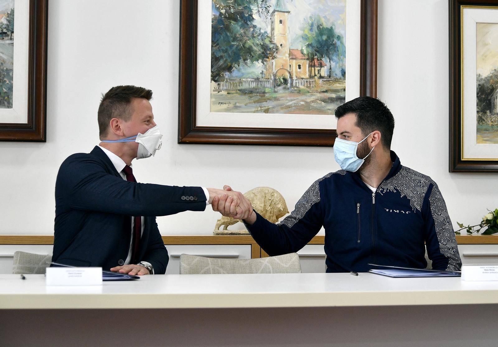 Rimac i predstavnici Grada Svete Nedelje potpisali ugovor o izgradnji kampusa