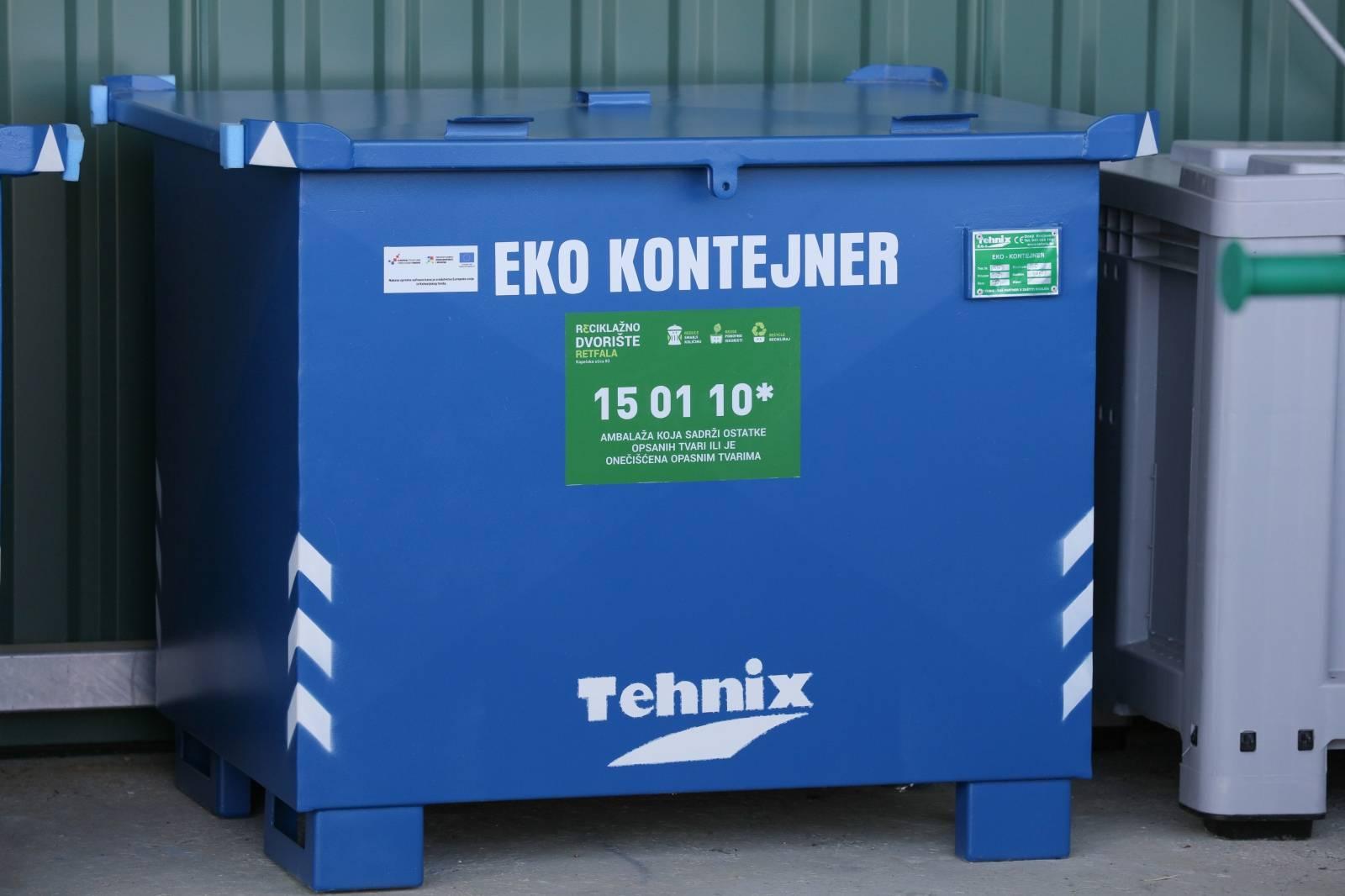 Osijek: Ministar Tolušić obišao novootvoreno reciklažno dvorište Retfala