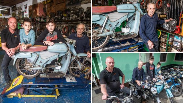 Ervin (72): 'Sin i unuci preuzet će brigu o oldtimer motorima'