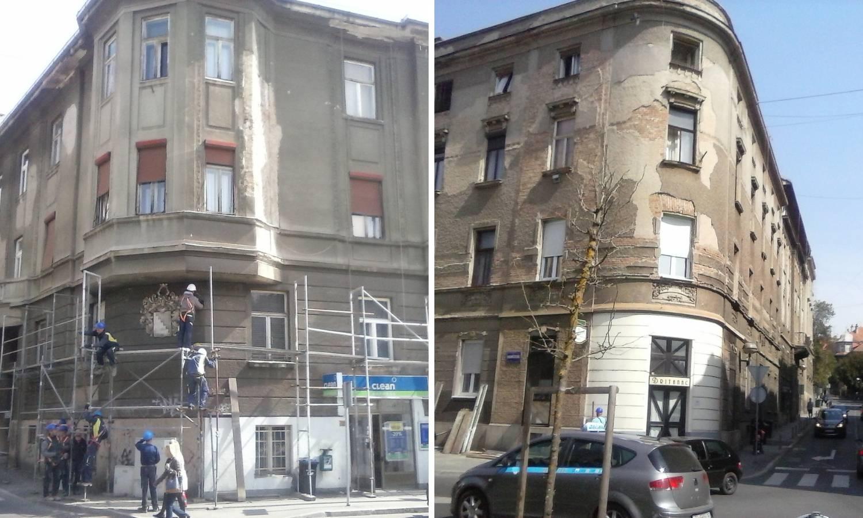 Nakon dvije godine skinuli su skelu kad ono - nema fasade