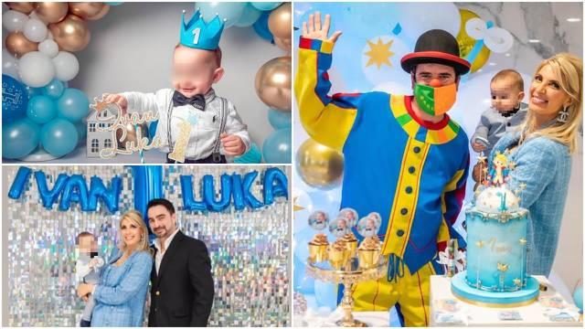 Slavlje u obitelji Čagalj: Ivan Luka proslavio je prvi rođendan
