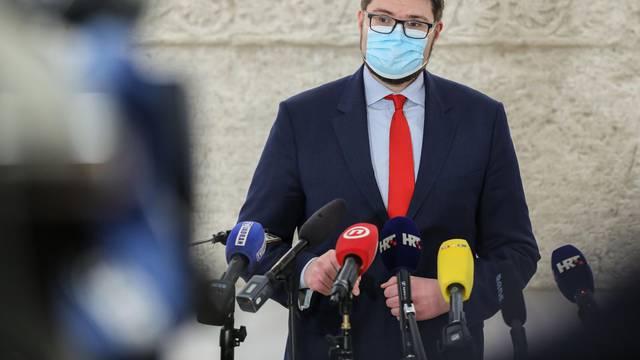 Zagreb: Izjava Peđe Grbina nakon prekida sjednice Sabora
