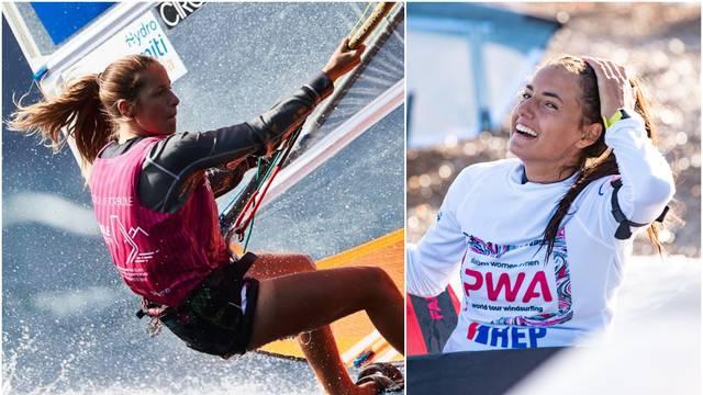 Dvije mlade Hrvatice Palma i Lara naše su velike nade u foil i windsurfingu: To je naša ljubav