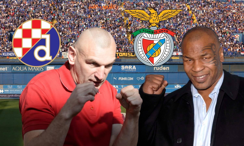 Dinamo protiv Benfice, Željko Mavrović protiv Mikea Tysona