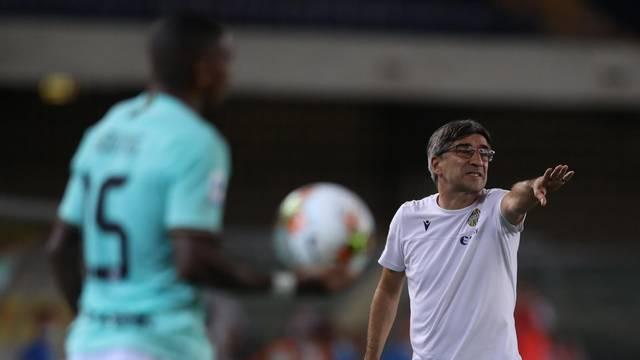 Hellas Verona v Internazionale - Serie A - Stadio Marcantonio Bentegodi