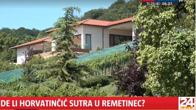 Uživo ispred Horvatinčićeve vile: U srijedu se mora javiti na izdržavanje zatvorske kazne