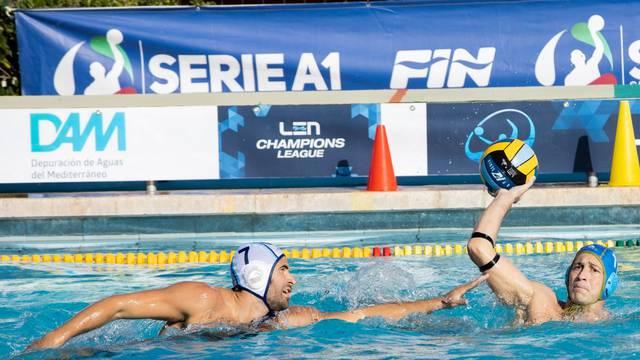 Waterpolo LEN Cup - Champions League Men match - Barcelona vs Jadran Split