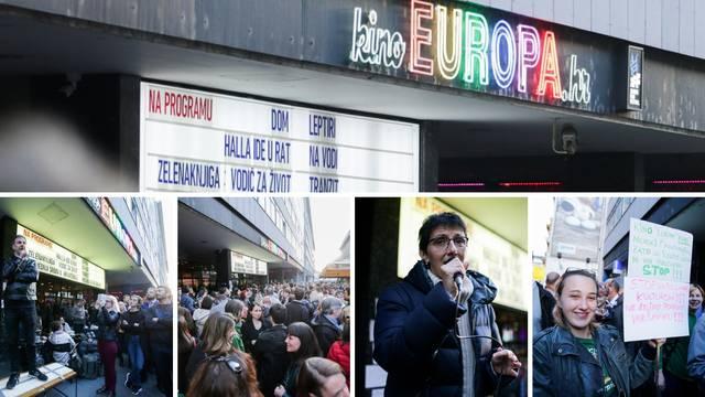 Ispred Kina Europa bilo 2000 građana: 'Kokice, a ne šljokice!'