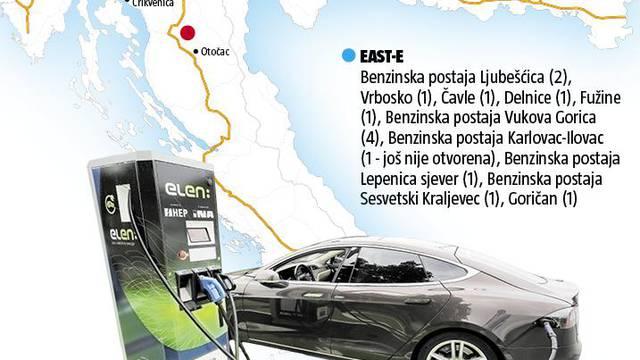 Gdje puniti auto? Od granice pa do Jadrana možete i na struju