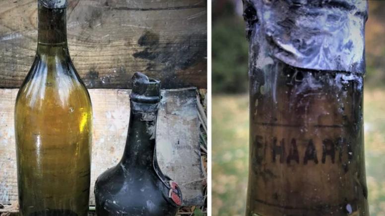 U potopljenom brodu iz 1917. godine pronašli su skupi konjak