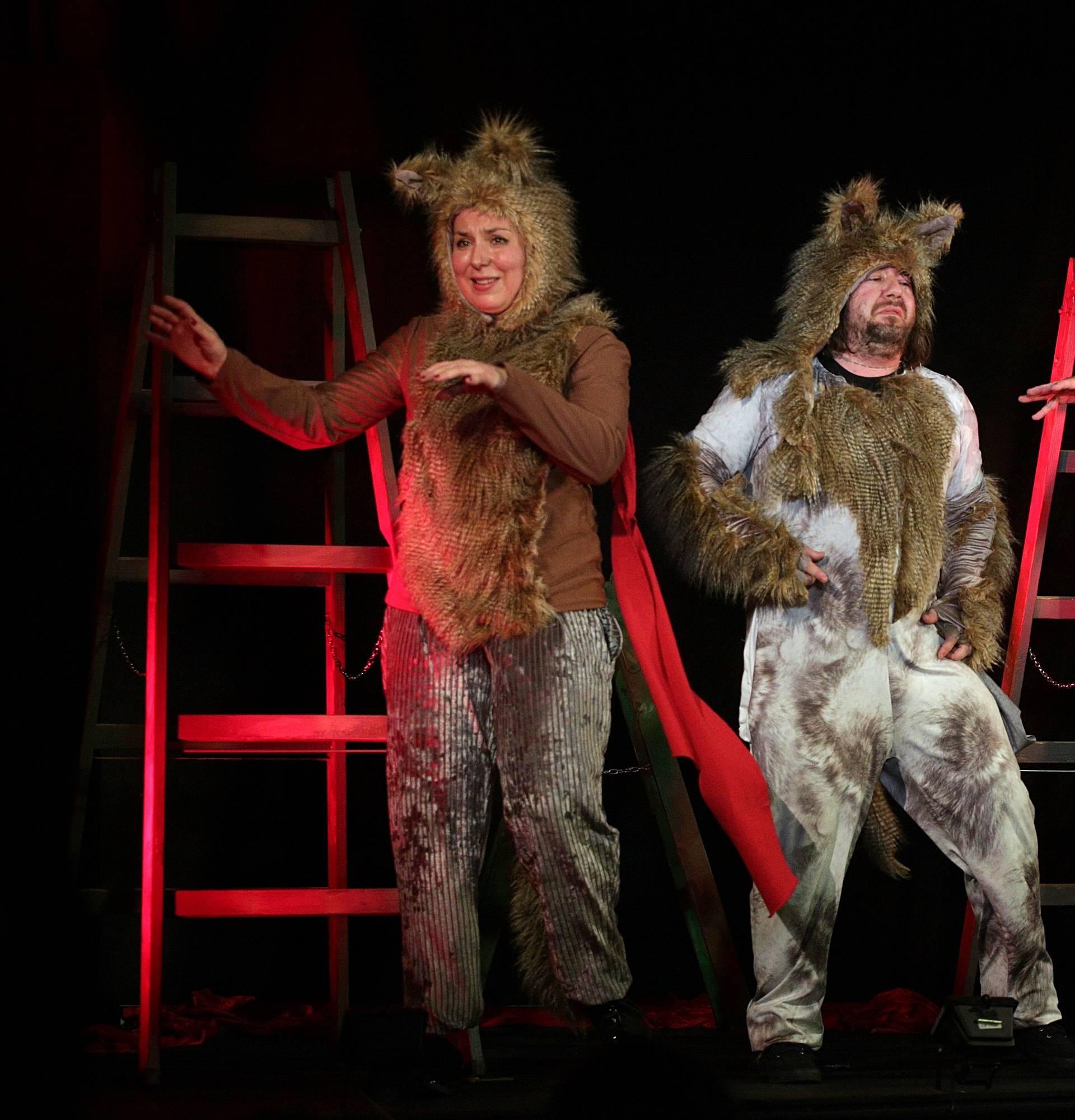 Mario Kovač: 'U ovoj predstavi glumim vuka vegetarijanca'