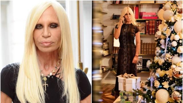 Versace se pohvalila drvcem, no svi joj gledali u 'zamrznuto' lice