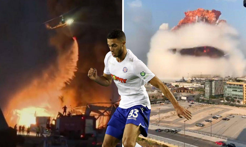 Hajdukov Libanonac: Izgledalo je kao film katastrofe! Odmah sam počeo zvati svoje u Bejrutu