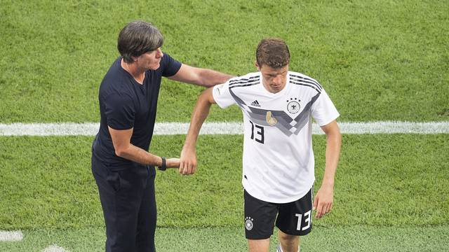 Soccer Laenderspiel / Freundschaftsspiel / Germany - Saudi Arabia 2: 1