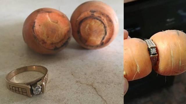 Izgubila zaručnički prsten prije 13 godina, pronašla ga na mrkvi