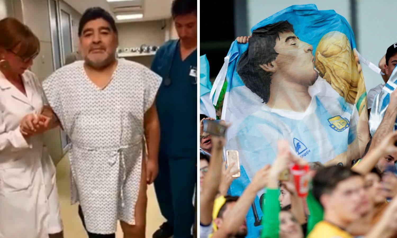 Maradona objavio video nakon operacije: Opet hodam, hvala!