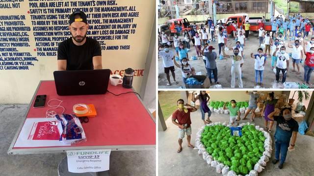 Hrvat 'zapeo' na Filipinima, za siromašne skupio 50.000 eura