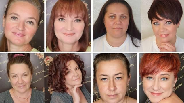 Frizerka i vizažistica obične žene transformiraju u prave ljepotice