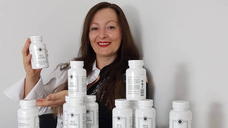 Poduzetnica Jadranka Vrhovec proizvodi vrhunski Beta 1,3/1,6 D - Glukan za jačanje imuniteta!