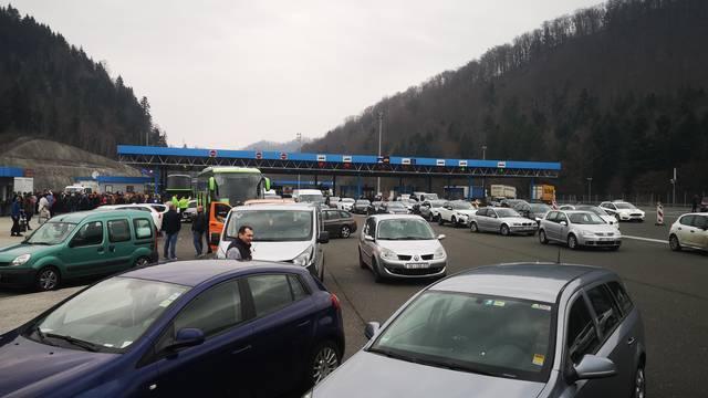 Slovenija: Jutros zastoji na graničnim prijelazima s RH