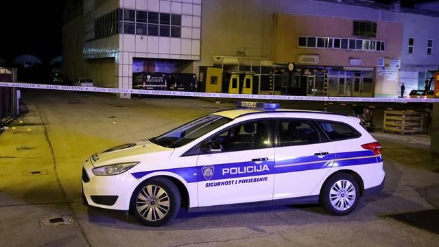 Zagreb: Policijski očevid na mjestu pucnjave u Sesvetama