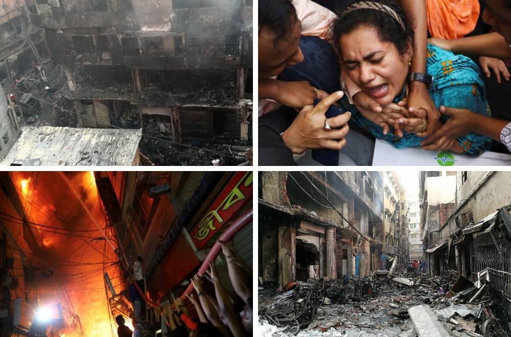 Požar je progutao stambene zgrade: Najmanje 78 poginulih