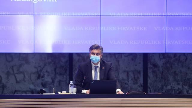 Zagreb: U NSK održana sjednica Vlade