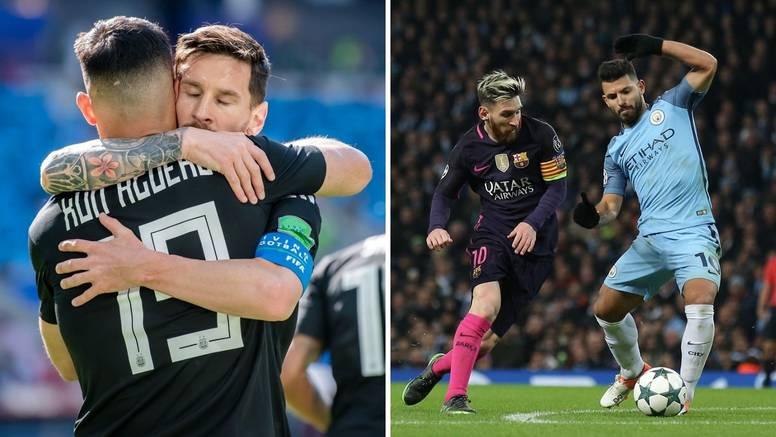 Agüero kod kuma Messija: Igrat će u Barceloni, ugovor do 2023.!