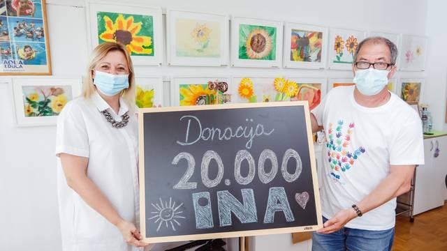Zagreb, 10.06.2021 - Urucenje donacije Udruzi Sindrom Down
