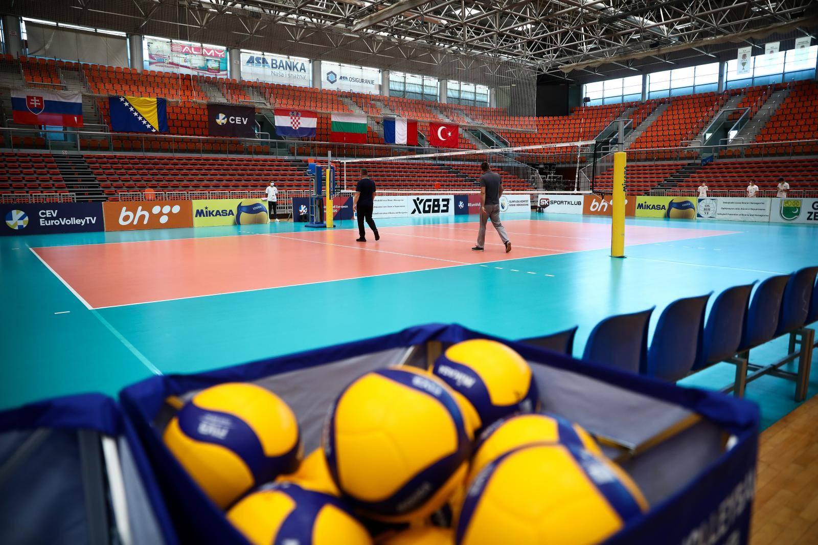 """Zenica: Dvorana """"Husejin Smajlović"""" u kojoj će se održati EP u odbojci za žene U19"""