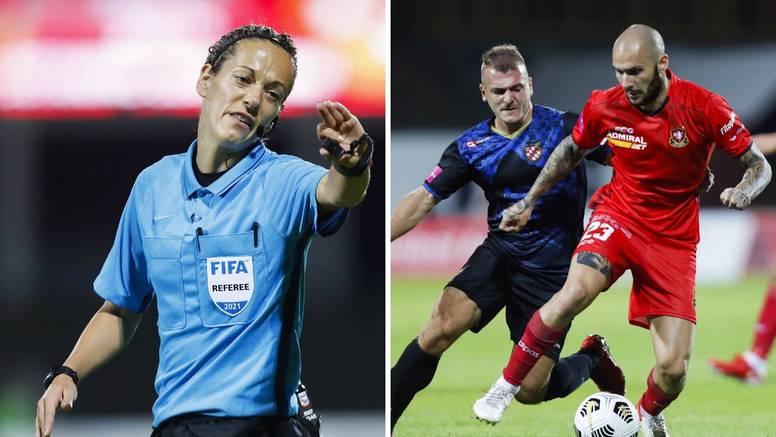 Gorica i Dragovoljac remizirali, utakmicu prvi put sudila žena