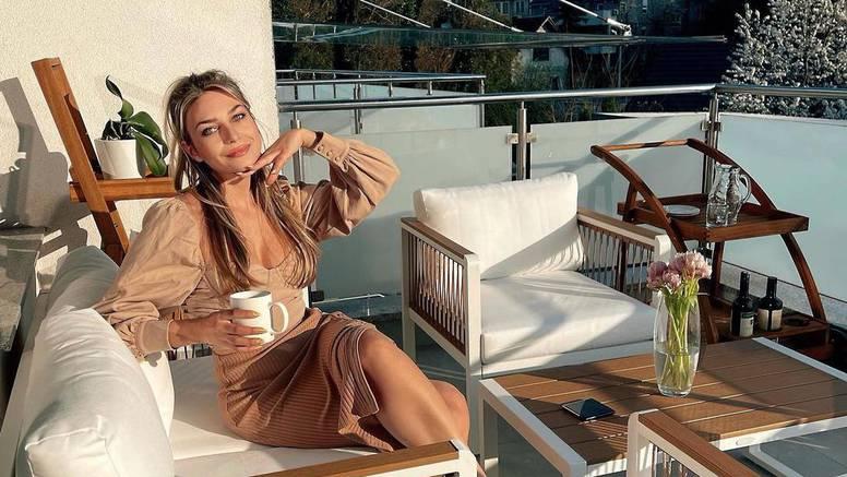 Sonja Kovač pohvalila se novom terasom i pozvala sve na kavu