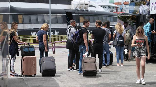 U Splitu se bilježi povećanje broja turista kao i onih koji odlaze na otoke