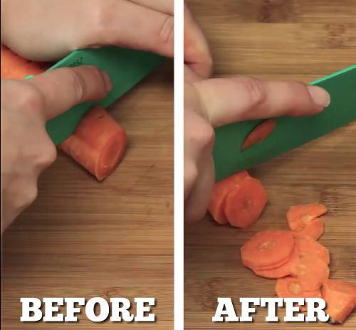 Uvijek može zatrebati: Super trik kako naoštriti nož bilo gdje