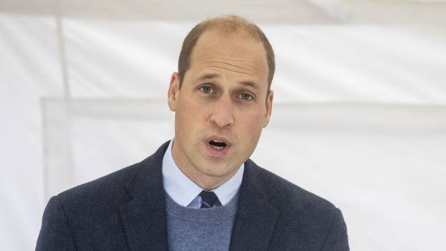 Prince William at The Royal Marsden