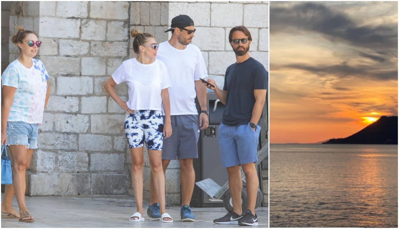 Partnere sestara Ecclestone 'puca' romantika: Na odmoru u Hrvatskoj očarao ih je suton
