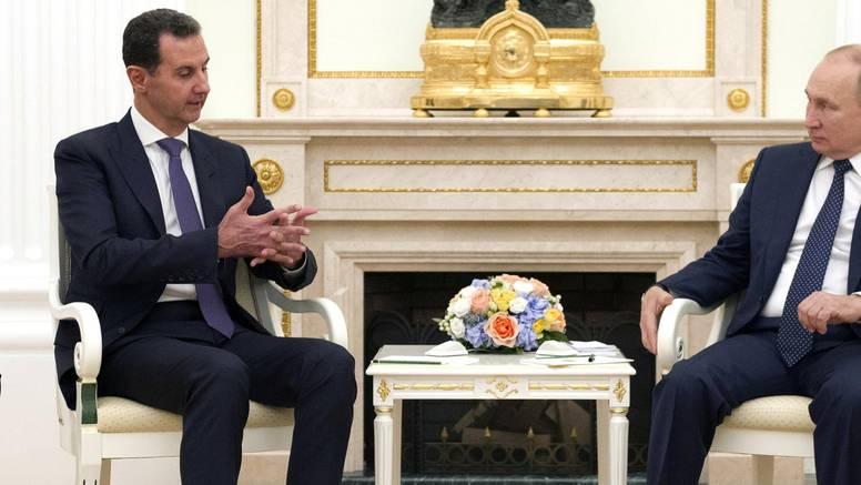 Putin primio Asada: Kritizirao miješanje stranih sila u Siriji