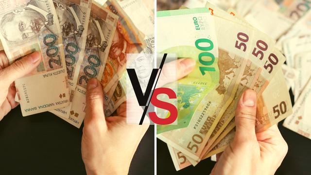 Kuna je ojačala prema euru