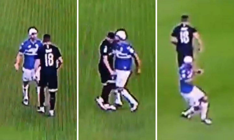 Na rubu tučnjave: Urugvajac se unio Rebiću u lice i prijetio mu!