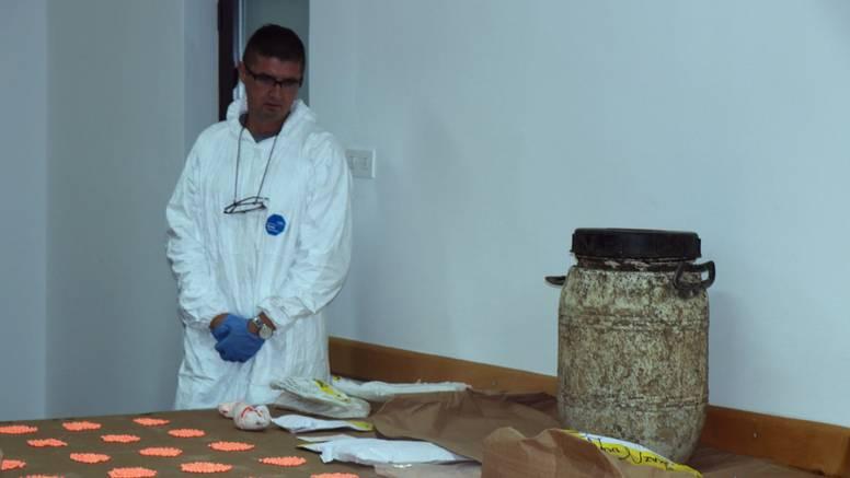 U plastičnom buretu zakopali drogu vrijednu 300.000 eura!