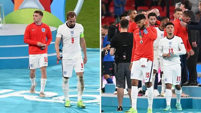 Ni srebro im ne valja: Englezi odmah skidali medalje nakon dodjele! 'Kakvo nepoštovanje'