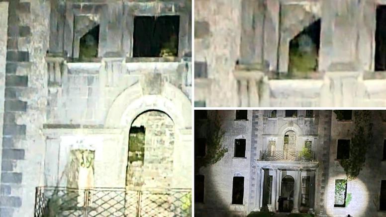 Prizor koji ledi krv u žilama! Posjetili zloglasnu kuću pa ugledali duha na prozoru?!
