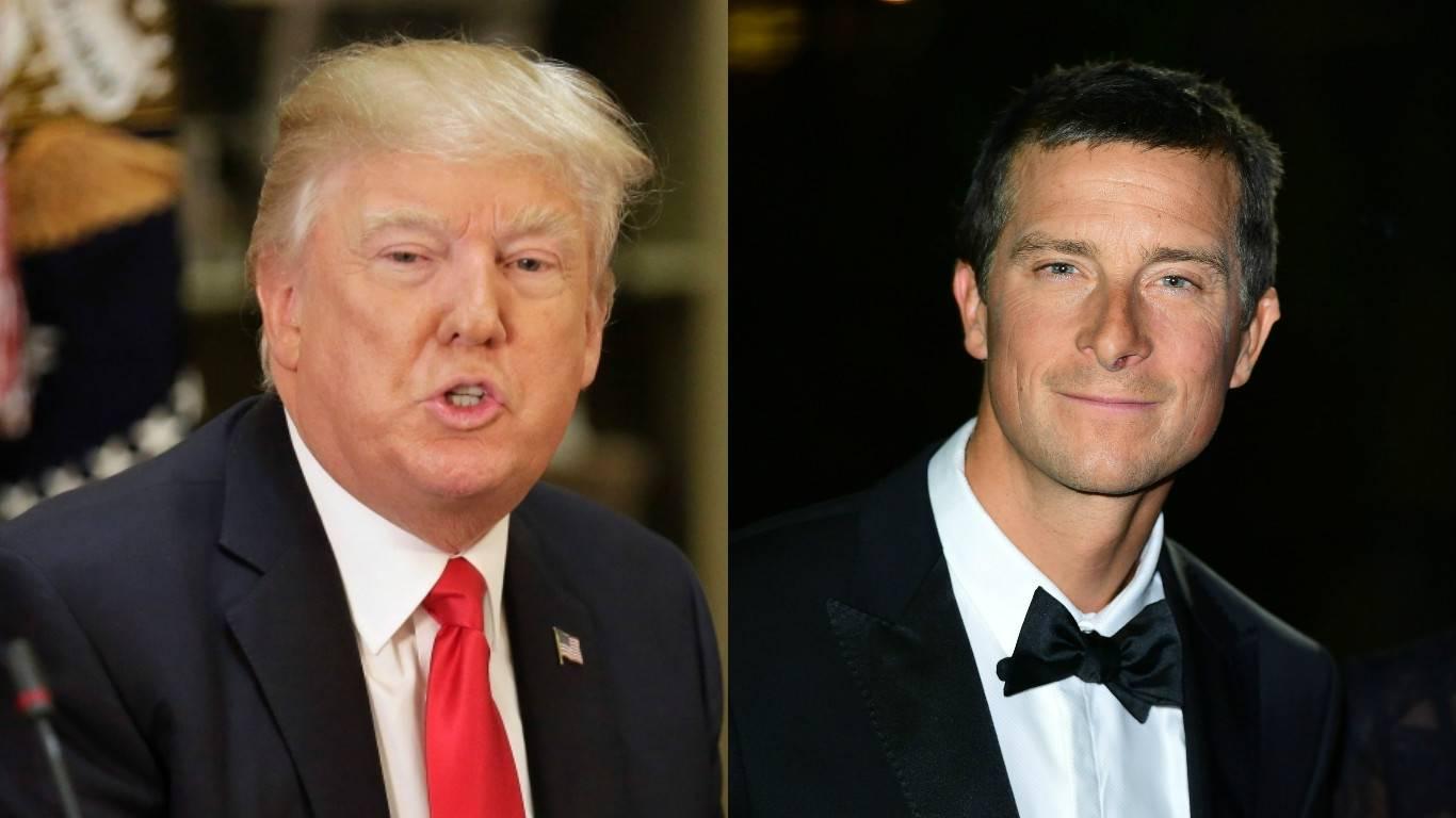 Bear Grylls je pozvao Donalda Trumpa na avanturu u divljini